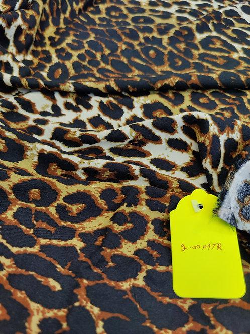 Leopard Viscose - 2 metres