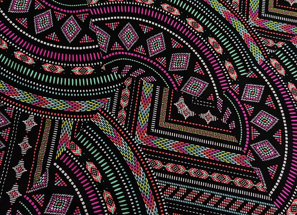 Abstract Neon Lycra