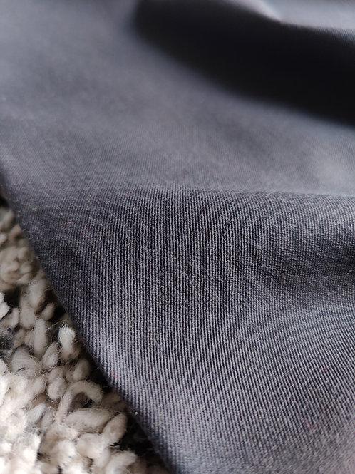 Grey Gaberdine Wool