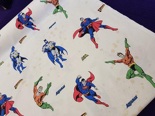 D.C. Comics, Superman, Batman & Aquaman - 100% Cotton