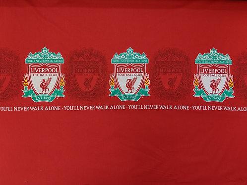 "Liverpool Football Club Fabric - 69"" - 100% Cotton"