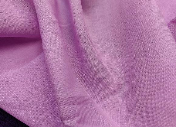 Lavender Pink Irish Linen