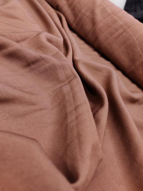 Brown lightweight cotton Twill