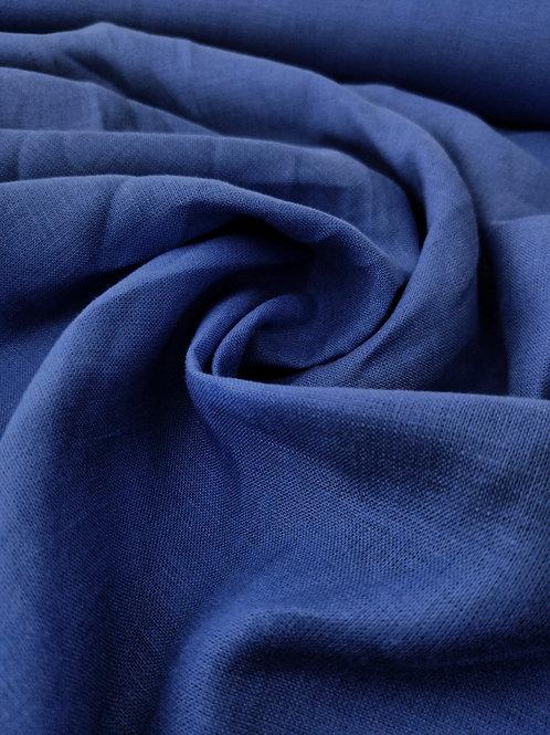 Royal Blue 100% Irish linen
