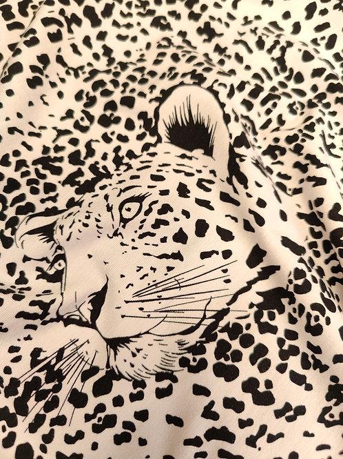 Leopard Viscose Jersey