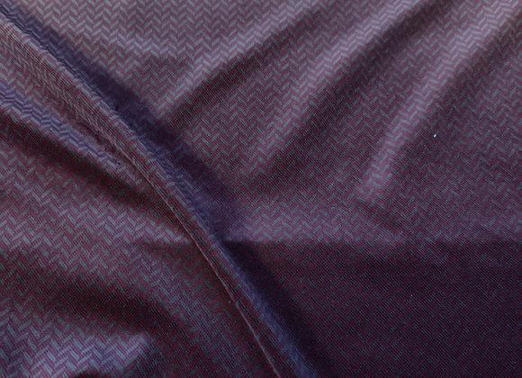 Burgundy/Olive Cotton Velvet
