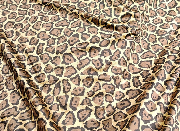 Leopard Cotton Velvet