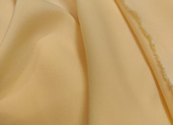 Light Peach Poly Fabric - 1.35m piece