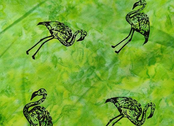 Green Flamingo - 1m piece