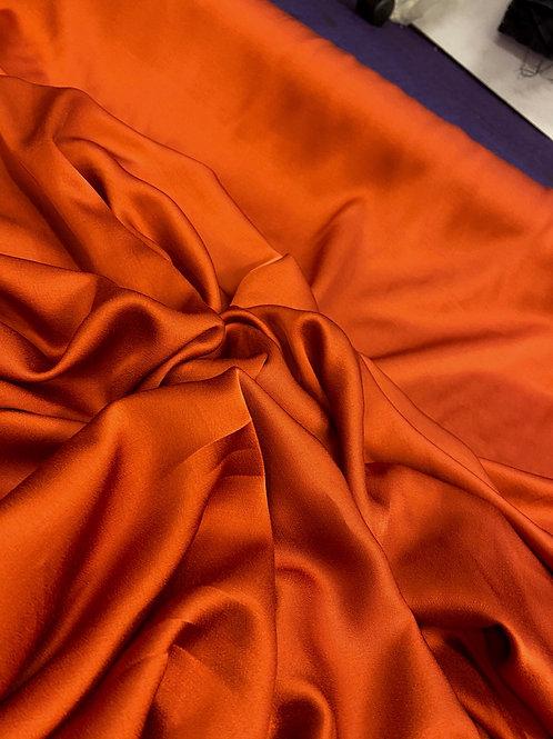 Rusty Orange PolySatin