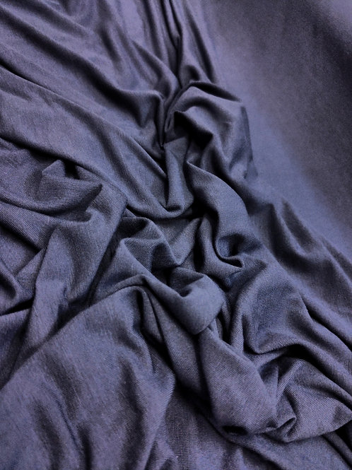 Midnight indigo Viscose Jersey