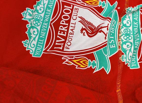 Liverpool Football Fabric - 1.55m piece