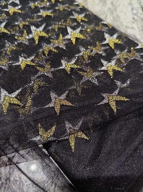 Gold/Silver Stars Net
