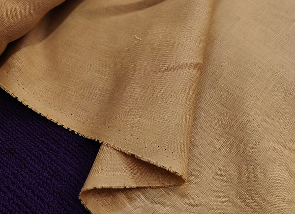 Light Camel Irish linen