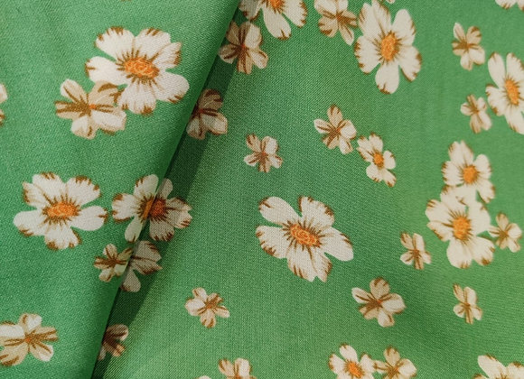Harriet Green Floral Viscose Challis