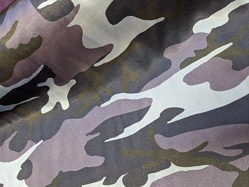Camouflage Satin