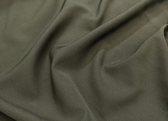 Dark olive suiting - 3 metre piece