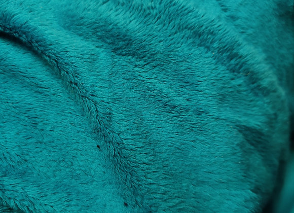 Turquoise Fleece - 3 metre piece