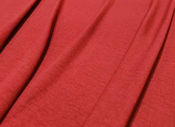 Blood Orange Viscose Blend - 3 metre piece
