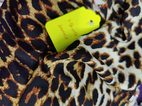 Leopard Viscose - 1.5 metre