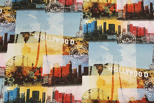 "Hollywood Hills Cotton Print - 55"" Wide"