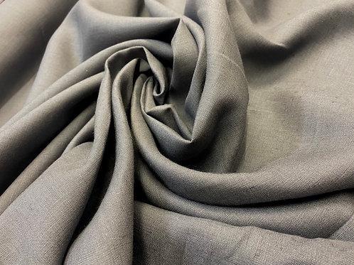 Dark Grey 100% Irish Linen