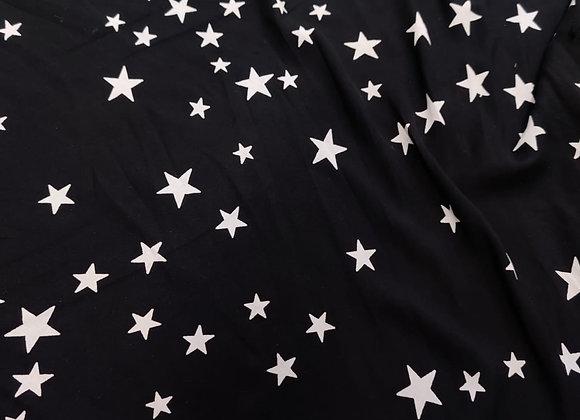 Irregular Star Lightweight Viscose