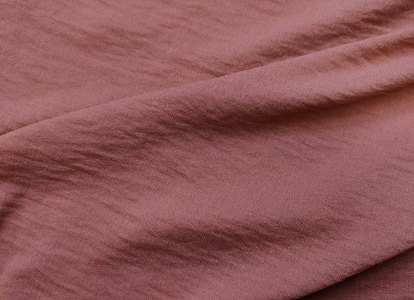 Rose Linen Look Poly Fabric