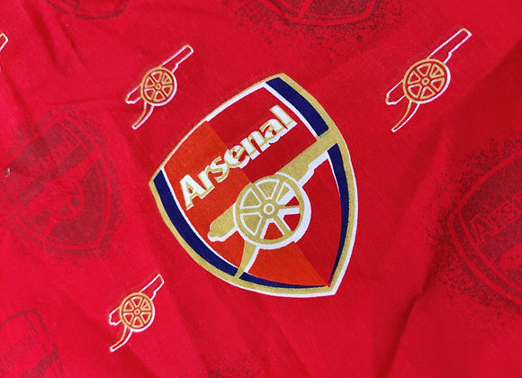 Arsenal Cotton Fabric - 1m piece