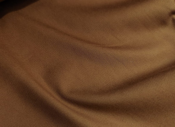 Caramel Brushed Cotton Twill (Lightweight)