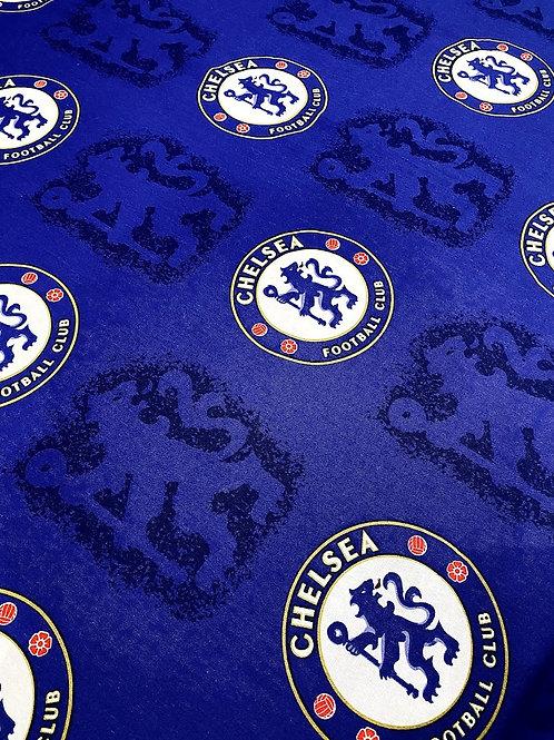 Chelsea Football Fabric - 100% Cotton