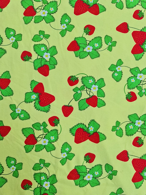 Strawberry Print Jersey