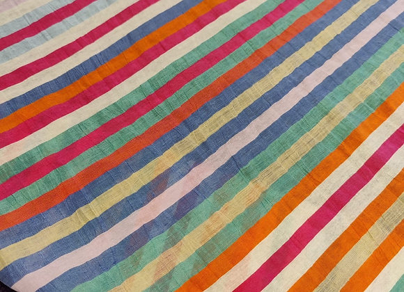 Rainbow Stripe Linen