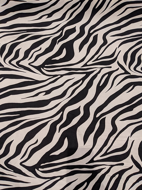 Zebra Viscose Linen