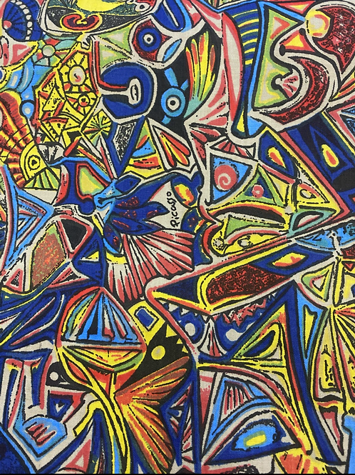 Picasso Art 100% Cotton