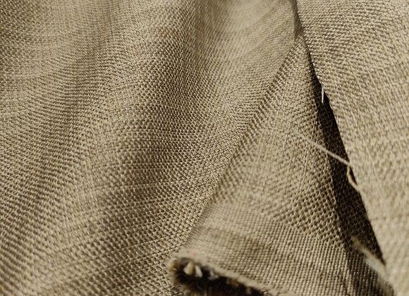 Beige Linen Look Upholstery Fabric