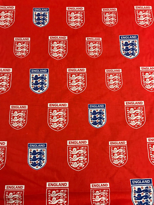 "England Football Club - 68"" wide - 100% Cotton"