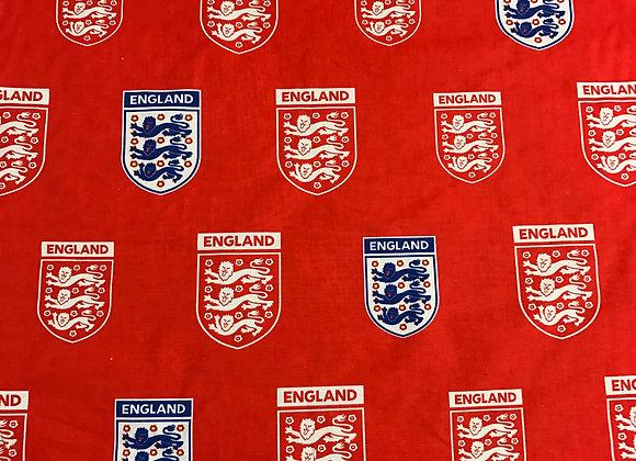 "England Football Club - 68"" wide - 100% Cotton"