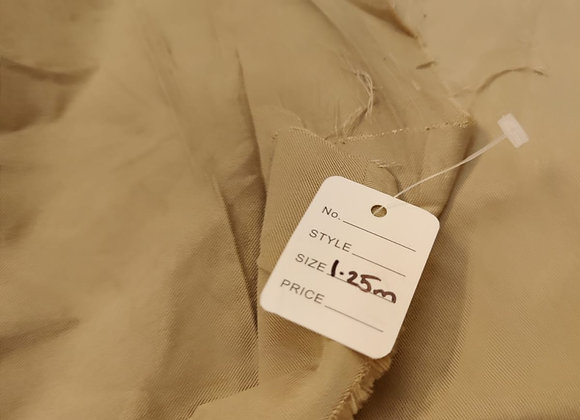Beige Tencel - 1.25m piece