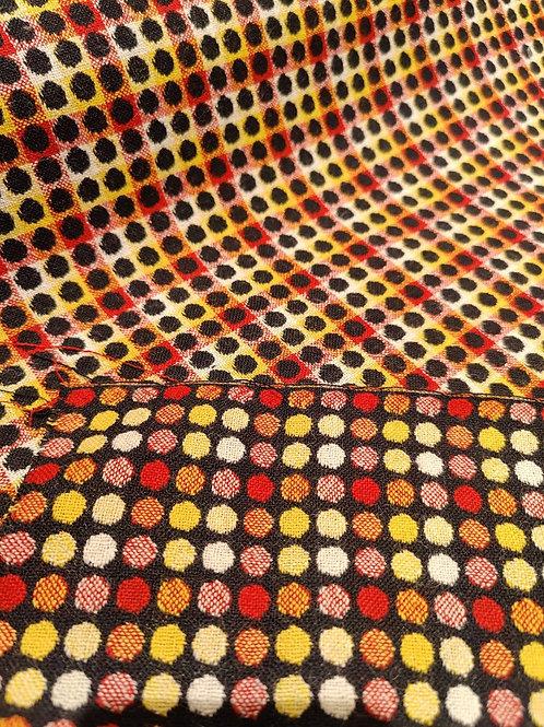Polka Dot 100% Wool
