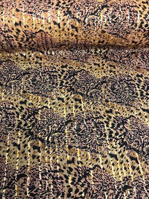 Chiffon Leopard Print