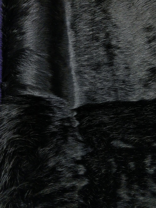 Shaggy Black Fur