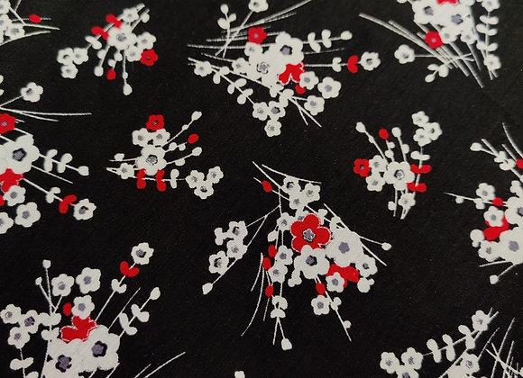 Floral Scatter Viscose Jersey - 3 metre piece