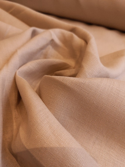 Tan 100% Irish Linen
