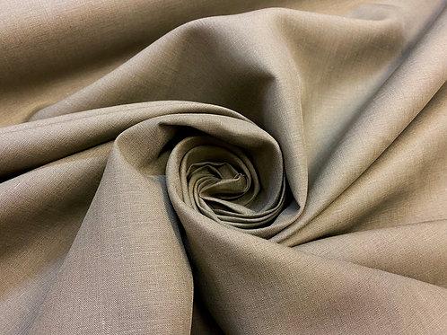 Khaki 100% Irish Linen