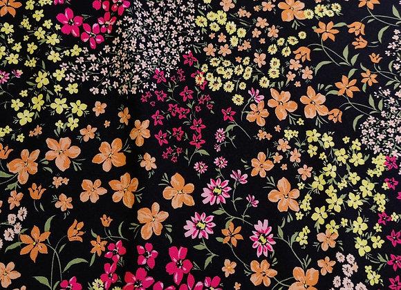 Floral Garden Viscose Challis