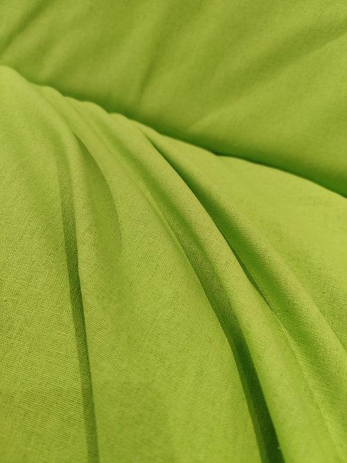 Lime green Linen viscose