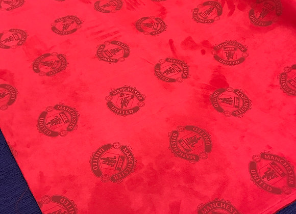 "Manchester United Football Club - 55"" wide - Faux Suede"