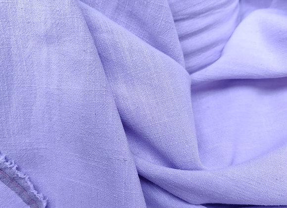 Lilac Viscose Linen