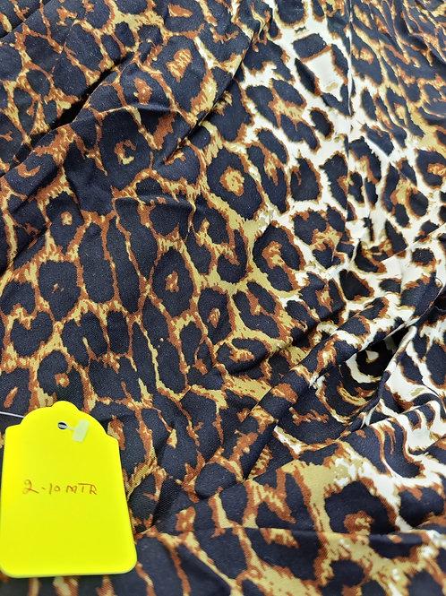 Leopard Viscose - 2.10 metres